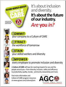 Cofc care poster graphic