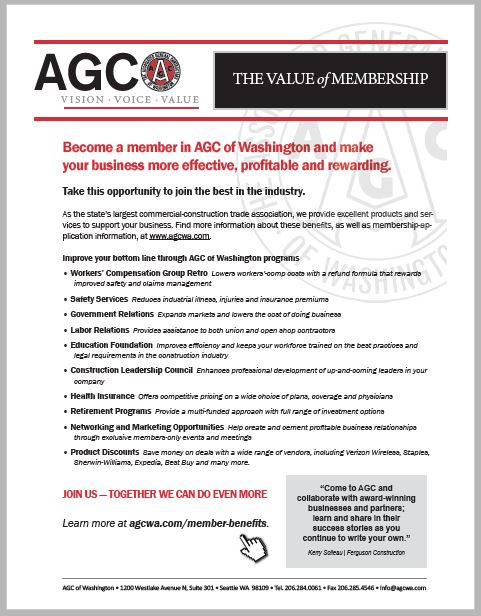 Member Benefits - AGC of Washington