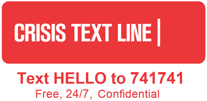 Image result for crisis text line